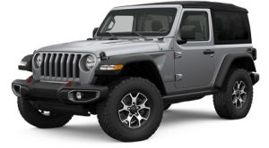 Grey Jeep Wrangler Rental