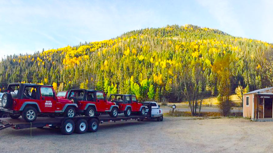 New Mexico Jeep Rentals Rental Jeeps