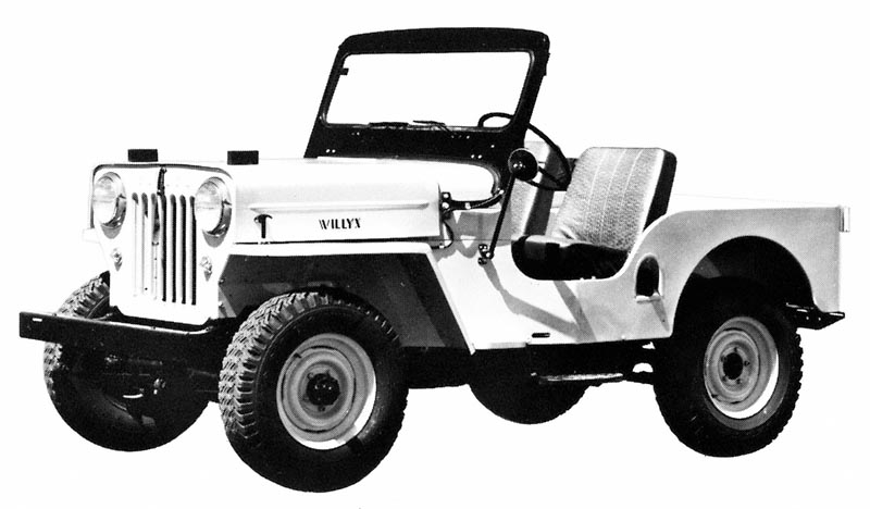 Historic Jeep Willys