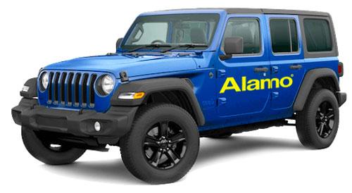Alamo Jeep