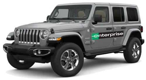 Enterprise Jeep