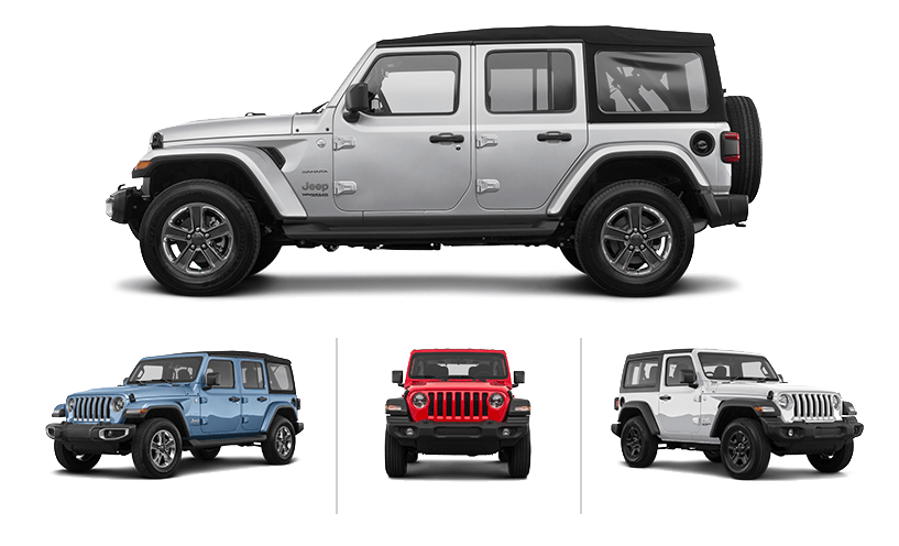 Jeep Wranglers from Hertz