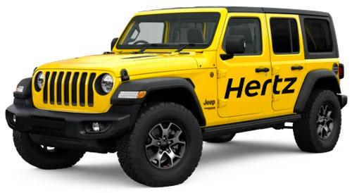 Hertz Jeep