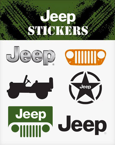 Official Jeep stickers 2020