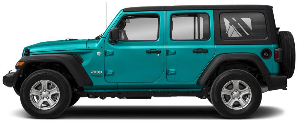 Bikini blue Jeep rental