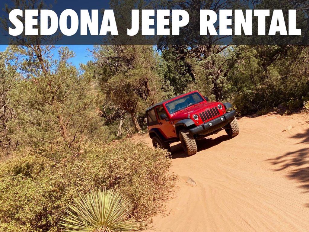 Sedona Jeep rental photo