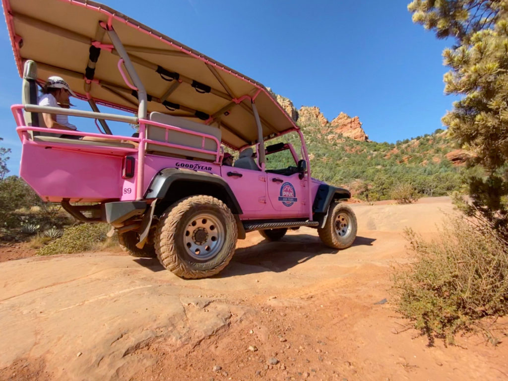 Private Jeep tour headed for The Stairs!