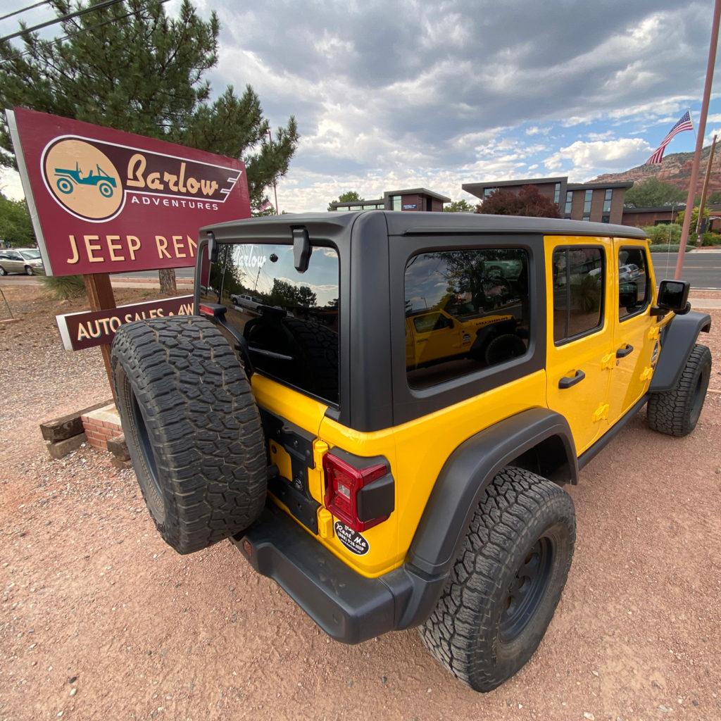 Jeep rental in West Sedona