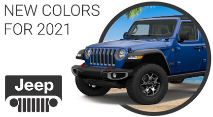 New blue Jeep color for 2021