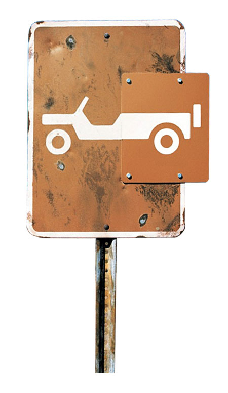 Jeep Wrangler Unlimited Off-road Sign